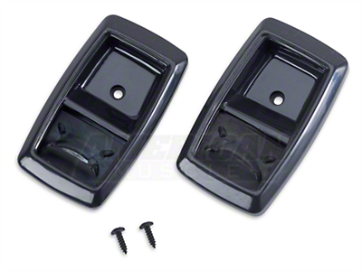 Black Inner Door Handle Bezel Kit (79-93 All)