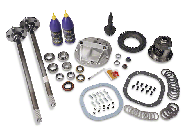 8.8 in. 31 Spline Axle and 3.73 Gear Upgrade Kit - 5 Lug (86-93 5.0L)