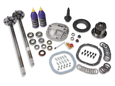 8.8in 31 Spline Axle and 3.73 Gear Upgrade Kit - 5 Lug (86-93 5.0L)