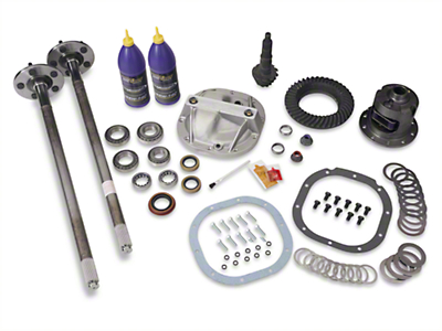 8.8in 31 Spline Axle and 4.10 Gear Upgrade Kit - 5 Lug (86-93 5.0L)