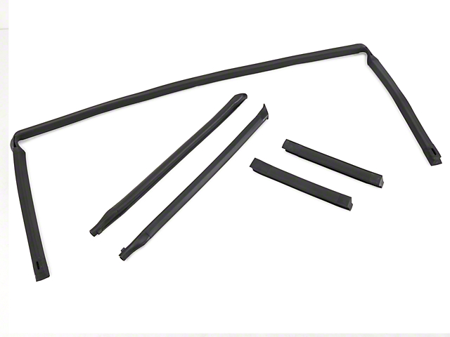 OPR 5 Piece Weatherstripping Kit - Convertible (88-93 All)