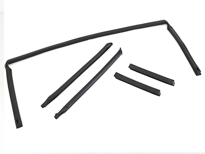 5 Piece Weatherstripping Kit - Convertible (88-93 All)