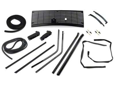 Exterior Restoration Kit - Coupe (87-93 All)