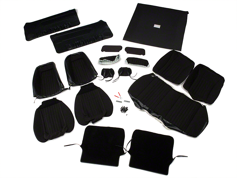 Interior Conversion Kit - Black (90-91 Hatchback)