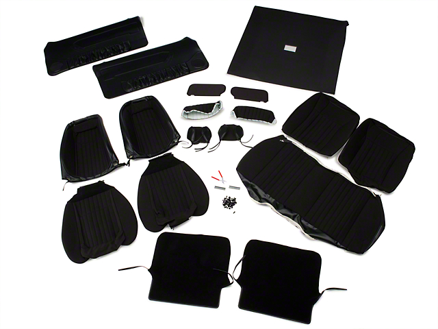 OPR Interior Conversion Kit - Black (90-91 Hatchback)