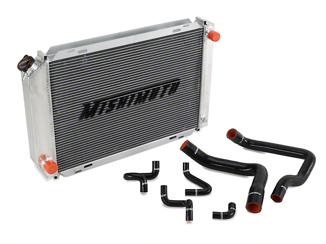 Mishimoto Radiator and Silicone Hose Kit - Manual (86-93 5.0L)