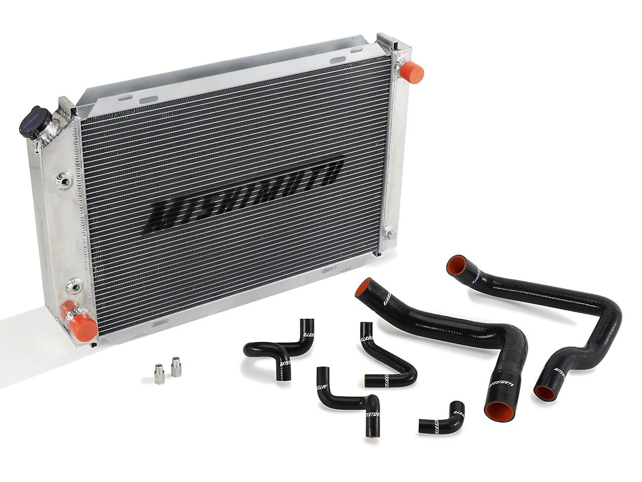 Mishimoto Radiator and Silicone Hose Kit - Automatic (86-93 5.0L)