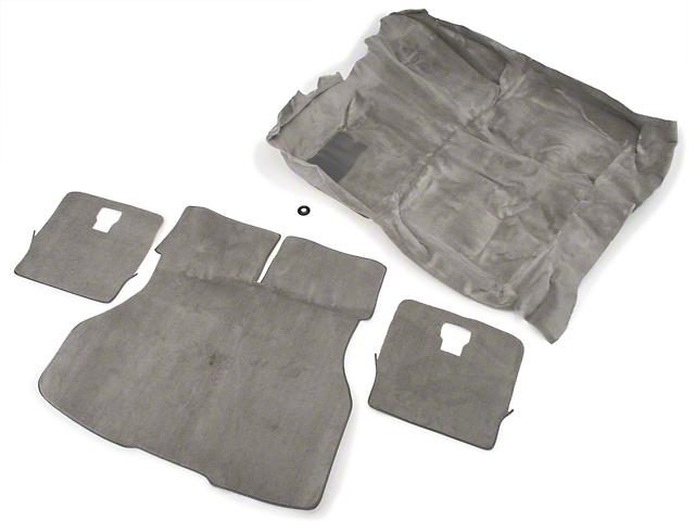OPR Floor and Hatch Carpet Kit - Titanium Gray (90-92 Hatchback)