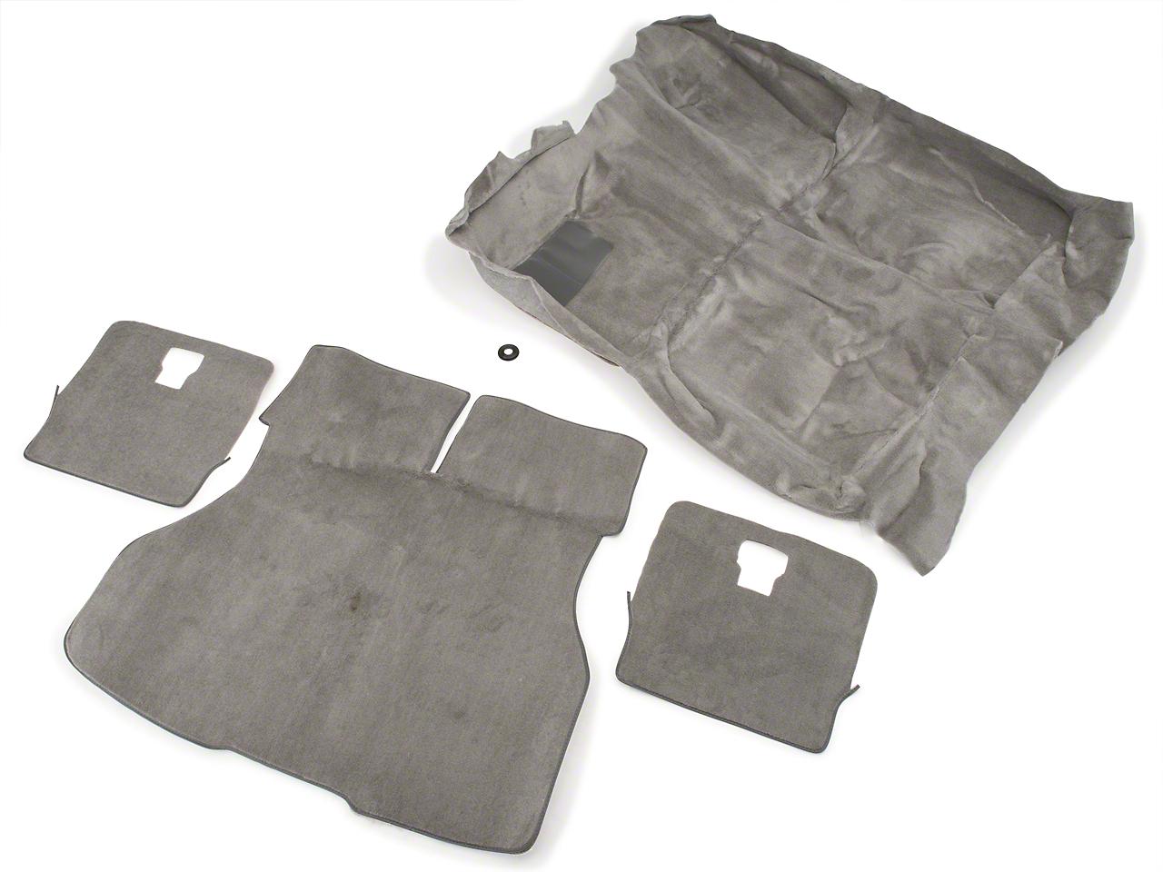 Floor and Hatch Carpet Kit - Titanium Gray (90-92 Hatchback)