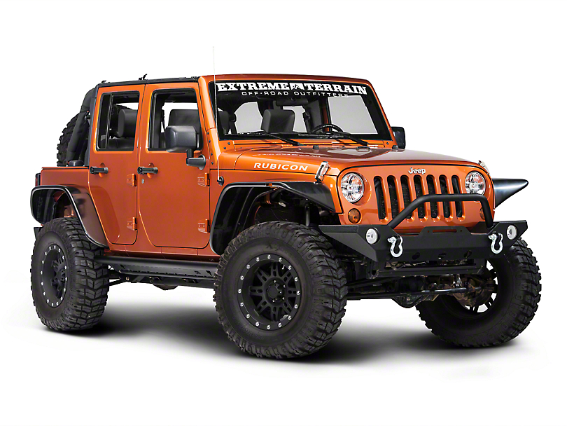 TJM Rock Sliders Bars (07-17 Wrangler JK 4 Door)