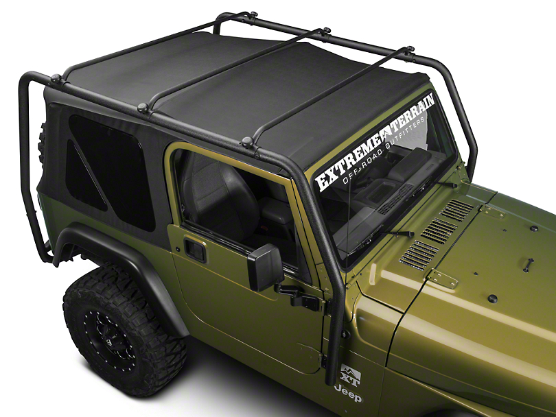 Barricade Wrangler Roof Rack Textured Black J100172 97