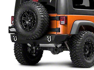 Barricade Trail Force HD Rear Bumper (07-17 Wrangler JK)