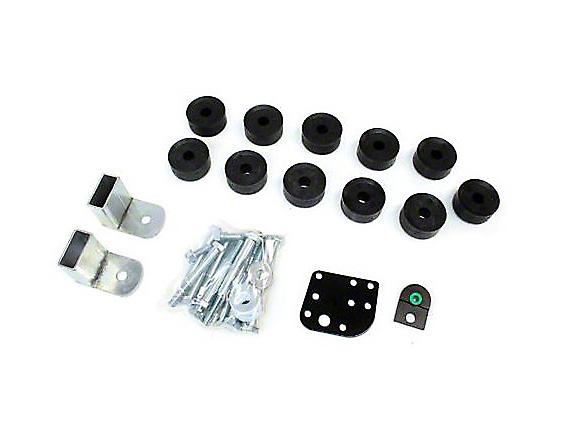 Teraflex 1 in. Body Lift Kit w/o Shocks (97-06 Wrangler TJ)