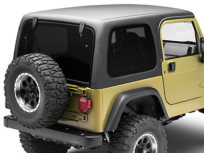 rally tops 1 piece wrangler hardtop for full doors xtr wranglertjfd1 97 06 wrangler tj free. Black Bedroom Furniture Sets. Home Design Ideas