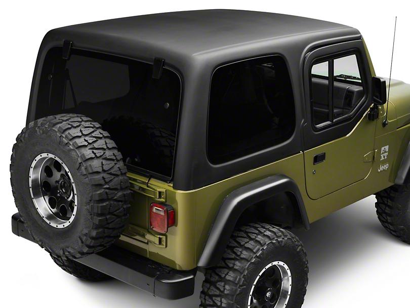 Rally Tops 1 Piece Wrangler Hardtop For Half Doors Xtr