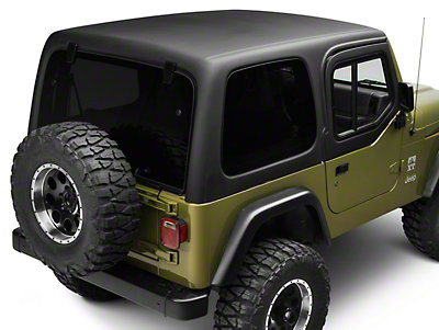 rally tops 1 piece wrangler hardtop for half doors xtr wranglertjhd1 97 06 wrangler tj free. Black Bedroom Furniture Sets. Home Design Ideas