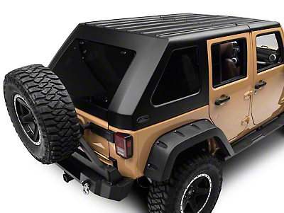 Wild Boar Fastback Targa Top (07-17 Wrangler JK 4 Door)