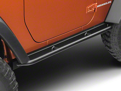 Barricade Enhanced Rubi Rails - Textured Black (07-16 Wrangler JK 2 Door)