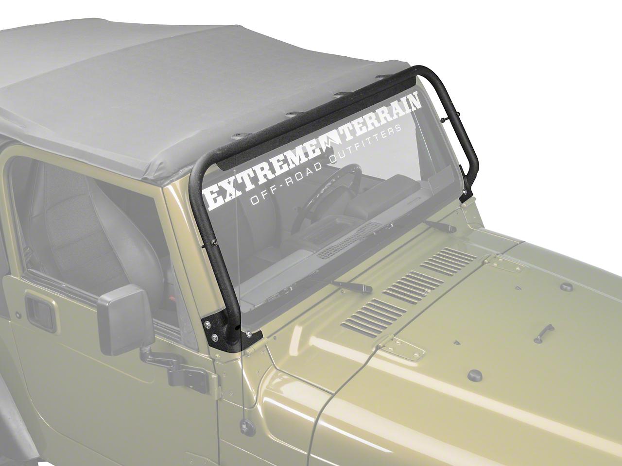 Barricade Light Bar - Textured Black (97-06 Wrangler TJ)