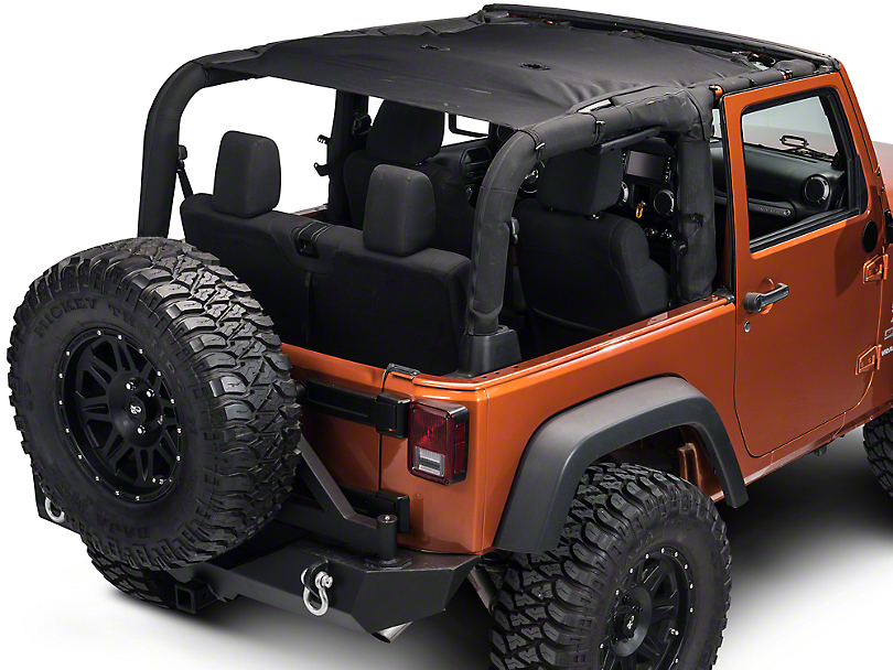 Rugged Ridge Full-Length Eclipse Sun Shade (07-17 Wrangler JK 2 door)