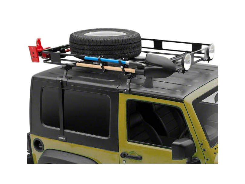 surco wrangler safari removable hardtop rack kit 87 95. Black Bedroom Furniture Sets. Home Design Ideas