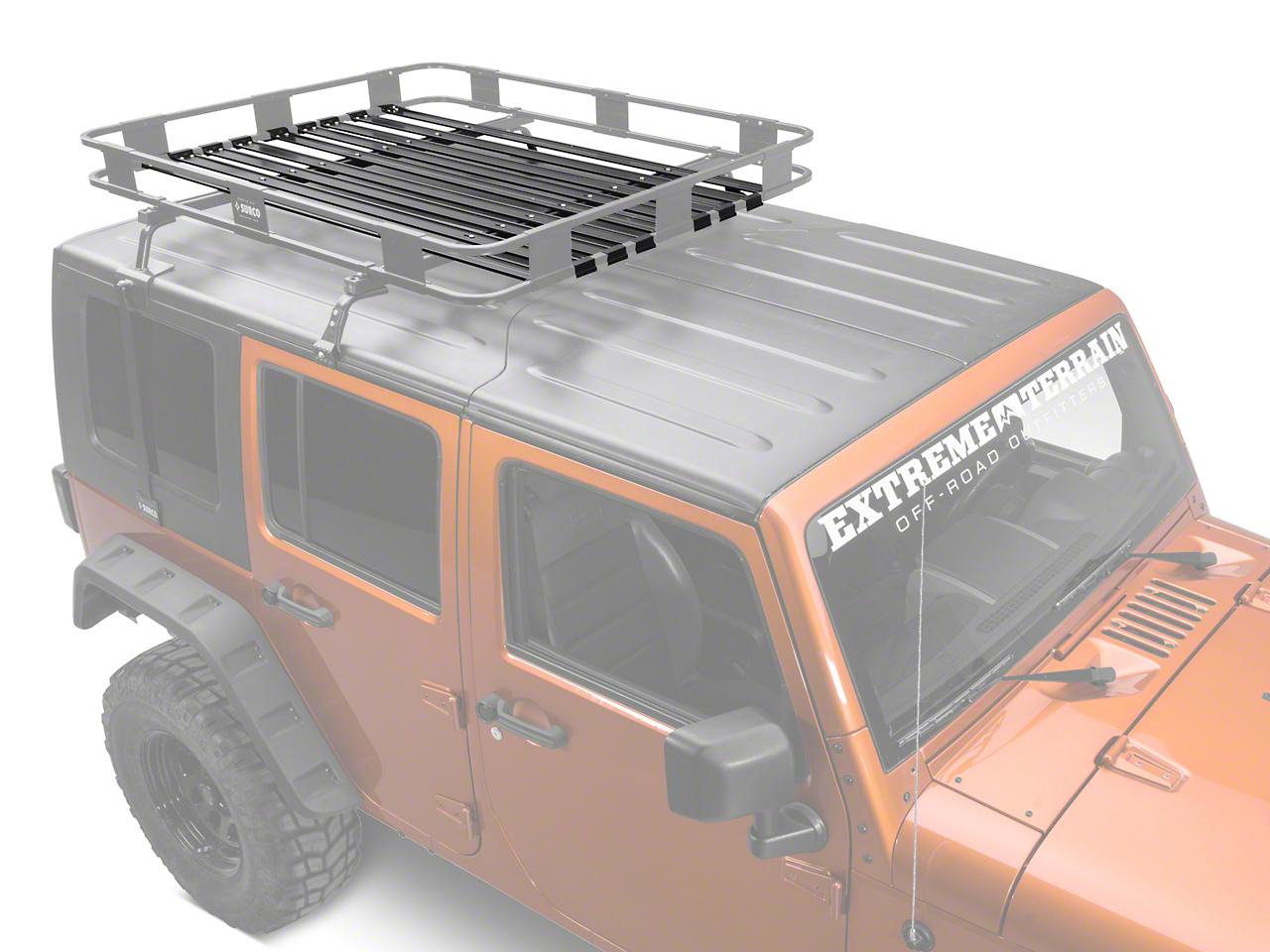 Surco Safari Rack Optional Flooring Kit (87-16 Wrangler YJ, TJ & JK)