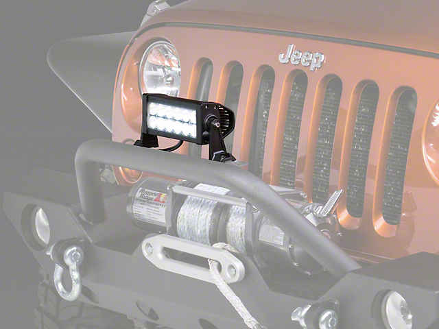Raxiom 7.5 in. Double Row LED Light Bar (87-17 Wrangler YJ, TJ & JK)