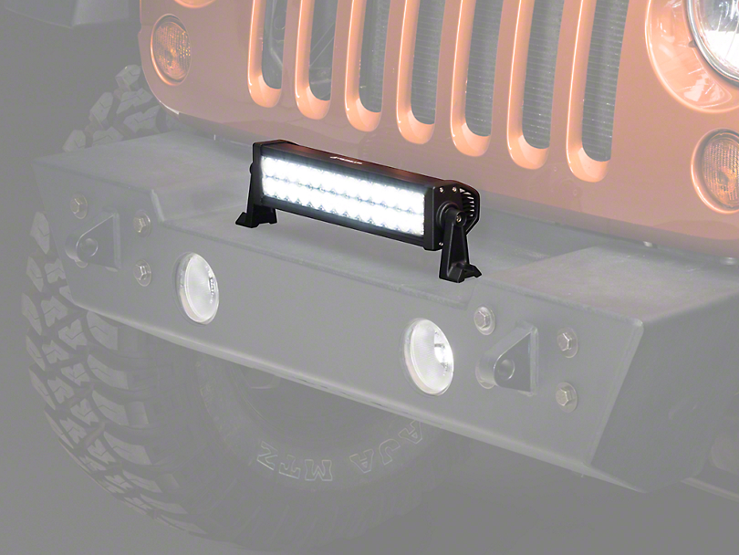Raxiom 13.5 in. Double Row LED Light Bar (87-17 Wrangler YJ, TJ & JK)