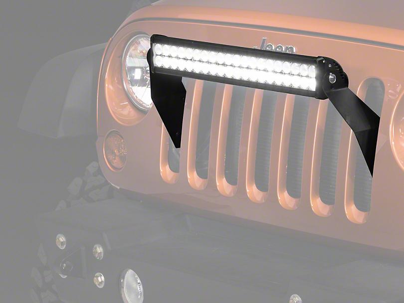 Raxiom 21.5 in. Double Row LED Light Bar (87-17 Wrangler YJ, TJ & JK)