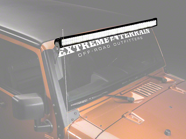 Raxiom 50 in. Double Row LED Light Bar (87-17 Wrangler YJ, TJ & JK)