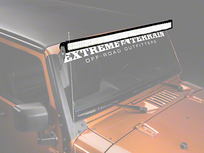 Raxiom 50 in. Double Row LED Light Bar (87-14 Wrangler YJ, TJ & JK)
