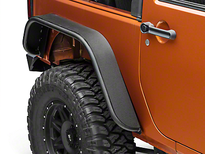 Barricade Tubular Rear Fender - Pair (07-16 Wrangler JK)