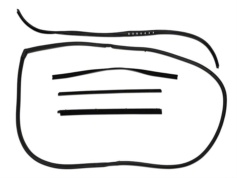 opr wrangler window channel seal belt seal kit j101089  87