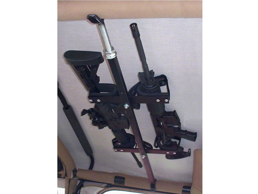 Quick Draw Wrangler Overhead Gun Rack For Tactical Weapons
