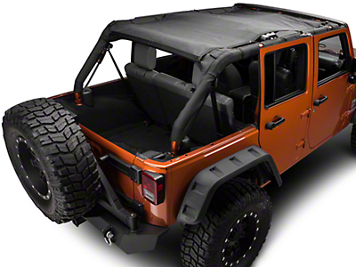 Barricade FullShade Top (07-17 Wrangler JK 4-Door)