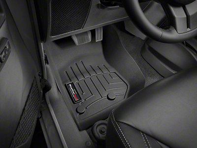 Weathertech Digitally Fitted Black Front Wrangler Floor