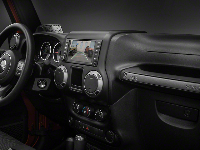 Raxiom OE-Style Navigation w/ Bluetooth & Back-up Camera (07-16 Wrangler JK)