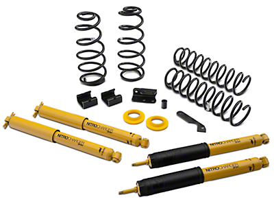 Old Man Emu 2.5 in. Light Load Lift Kit w/ Shocks (07-17 Wrangler JK 2-Door)
