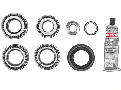 Dana Spicer Wrangler Rear Axle Bearing Rebuild Kit 2017137