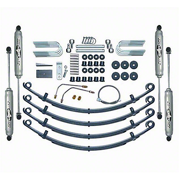 Rubicon Express 2.5 in. Standard Suspension System w/ Twin Tube Shocks (87-95 Wrangler YJ)