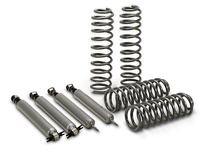Rough Country 2.5 in. Lift Kit 2-Door w/ Shocks (07-17 Wrangler JK)