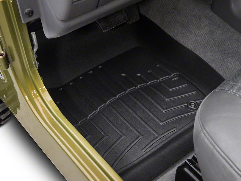 Weathertech Wrangler Custom Fit Front Floor Liners 440421