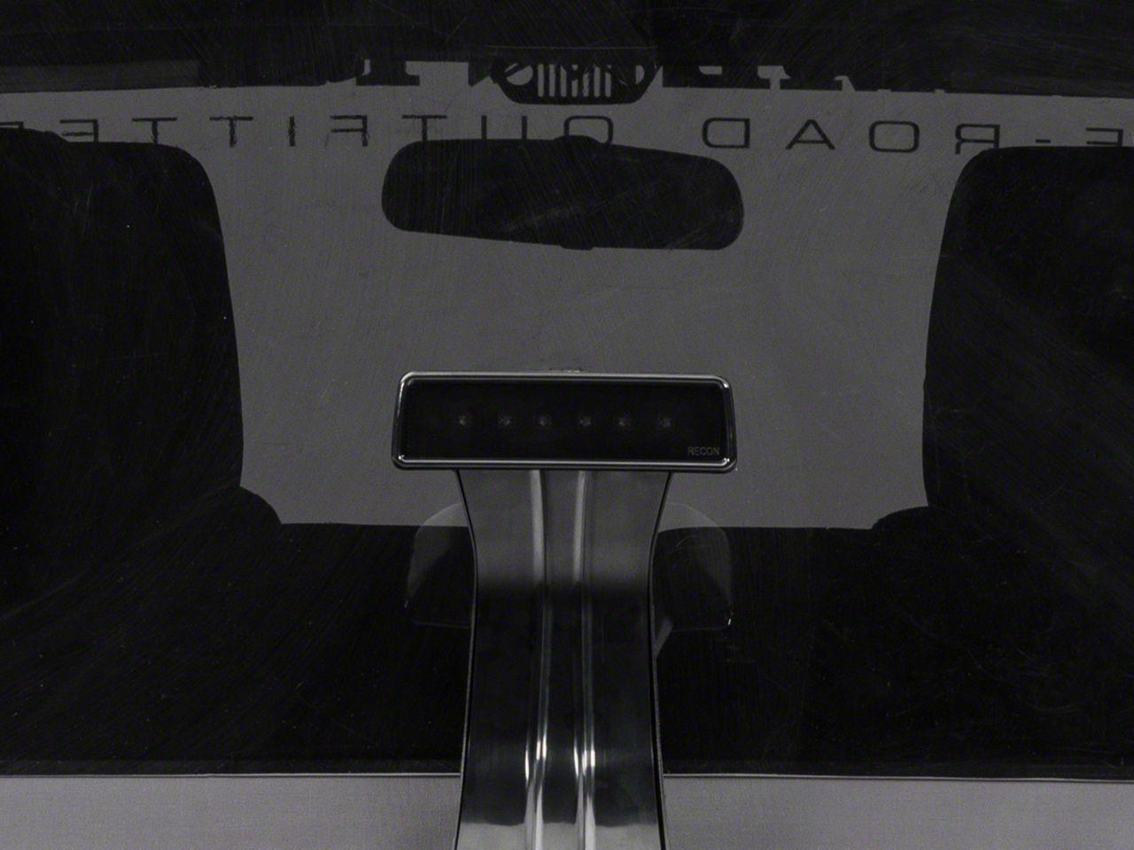 Recon Wrangler Smoked Led Third Brake Light 264127bk 07