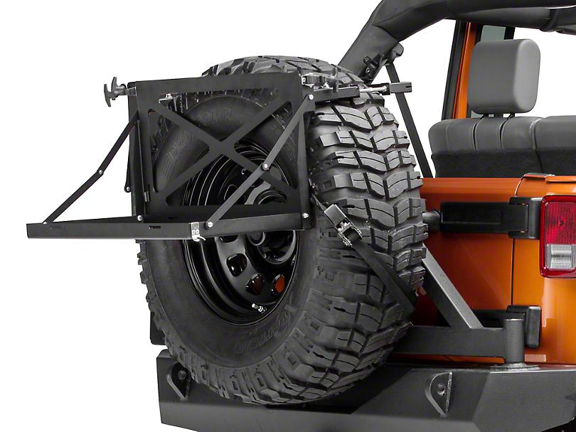 Morryde Wrangler Spare Tire Cargo Rack Jp56 001 87 17