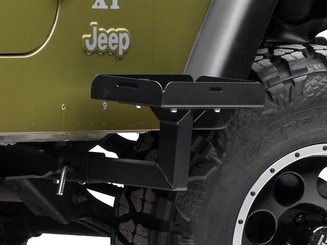 Morryde Wrangler Frame Mounted Jerry Can Holder Jp54 006