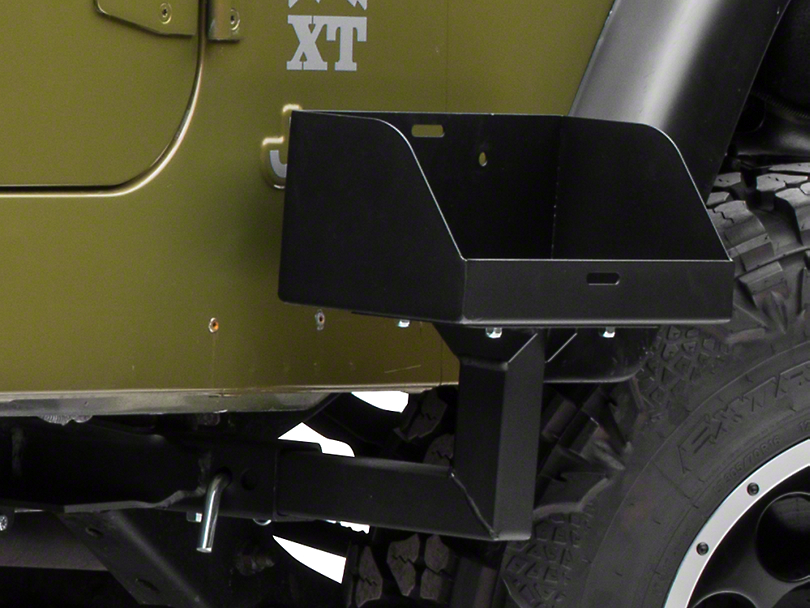 Morryde Wrangler Frame Mounted Jerry Can Holder Jp54 007