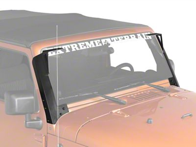 Add JK Windshield Mount