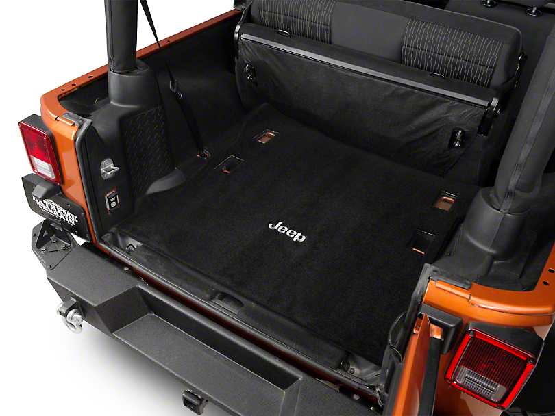 Cargo Space In Jeep Wrangler Unlimited 2017 Jeep Wrangler