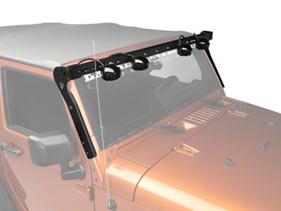 Add Carr XRS Rota Light Bar - Black Powder Coat