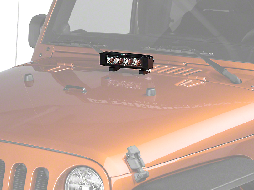 piaa wrangler rf series 10 in led light bar driving beam. Black Bedroom Furniture Sets. Home Design Ideas